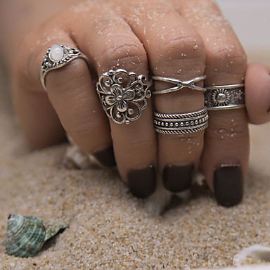 Women's Ring - Stylish Unique Design Classic Basic Gold Silver Ring For Wedding Party Halloween Birthday Party / Evening Dailywear