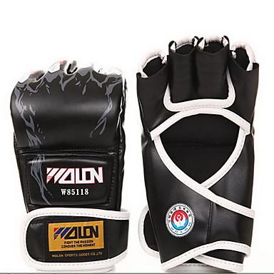 Sporthandschuhe Trainingshandschuhe Professionelle Boxhandschuhe für Boxen Fitness Muay Thai Fingerloswarm halten Atmungsaktiv