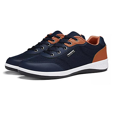 Men's PU(Polyurethane) Spring Comfort Athletic Shoes Black / Gray / Blue