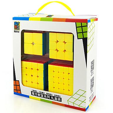 Rubik's Cube MoYu 5*5*5 Cubo Macio de Velocidade Cubos mágicos Brinquedo Educativo Antiestresse Cubo Mágico Adesivo Liso Dom Unisexo