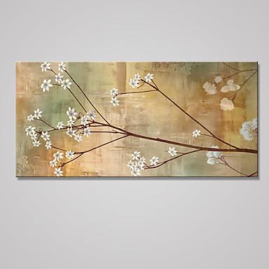 Reprodukce maleb na plátně Květinový/Botanický motiv Moderní Klasický,Jeden panel Plátno Horizontálně Tisk Art Wall Decor For Home