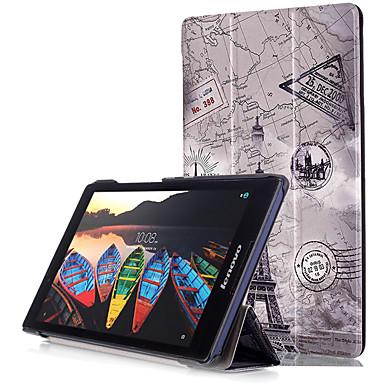 Capinha Para Lenovo Capa Proteção Completa / Tablet Cases Rígida PU Leather para Lenovo Yoga Tab 3 8.0