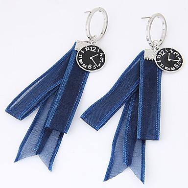 Damen Tropfen-Ohrringe Euramerican Modisch Textil Aleación Kreisförmig Schmuck Alltag Normal Modeschmuck