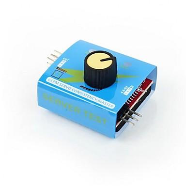 Rc servo tester 3ch digital multi ecs controlador de velocidade de controle de verificação