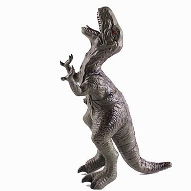 Dragões & Dinossauros Figuras de dinossauro Dinossauro jurássico Triceratops Tiranossauro Rex Silicone Plástico Crianças Dom