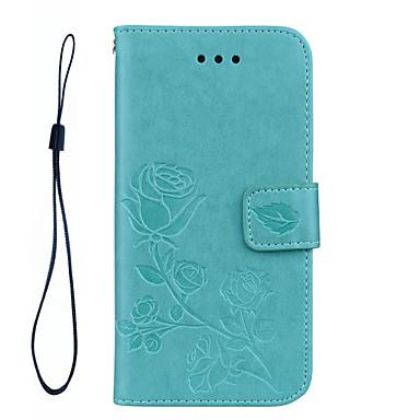 Capinha Para Samsung Galaxy A5(2017) A3(2017) Porta-Cartão Carteira Com Suporte Flip Estampada Com Relevo Capa Proteção Completa Côr