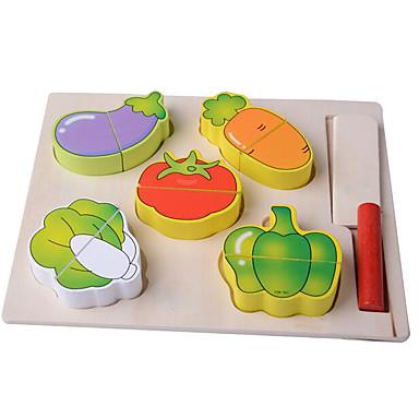 Spielessen Tue so als ob du spielst Spielzeuge Quadratisch Obst & Gemüse Obst & Gemüse - Schneider Holz Kinder Stücke
