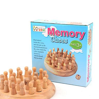 Jogos de Tabuleiro Brinquedos Circular Madeira Peças Unisexo Dom