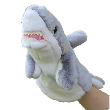 Fantoches Peixes Tubarão Animal marinho Fofinho Animais Adorável Tactel Felpudo Crianças Brinquedos Dom