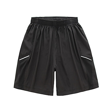 Homens Shorts de Corrida Secagem Rápida Respirável Tiras Refletoras Meia-calça Bandanas Calças Ioga Correr Taekwondo Exercício e