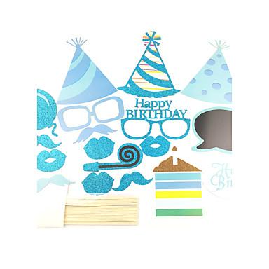 syntymäpäivä syntymäpäiväjuhla kova kortti paperi häät koristeet tyylikäs tyyli