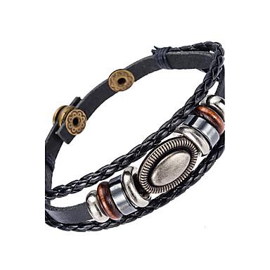 Pánské Kožené náramky Šperky příroda Módní Kožené Slitina Šperky Zvláštní příležitosti Sport