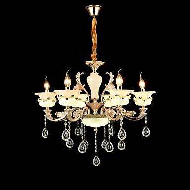 Tradicional/Clássico Cristal Estilo Mini Lustres Luz Superior Para Sala de Estar Quarto Quarto de Estudo/Escritório 110-120V 220-240V