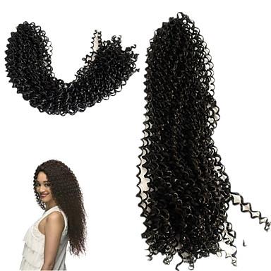 Clássico Alta qualidade 100% cabelo kanekalon Extensões de Cabelo Natural Tranças Encaracoladas Tranças de cabelo Diário