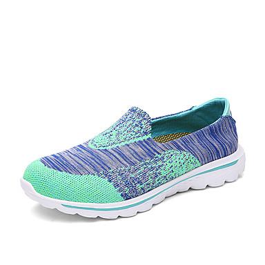 Unisex Boty Tyl Léto Podzim lehké Soles Atletické boty Pro Ležérní Červená Zelená Modrá Bledě růžová Světle zelená