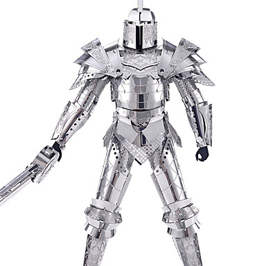 3D Puzzle Jigsaw Puzzle Metal Puzzle Warrior DIY Unisex Boys' Girls' Toy Gift