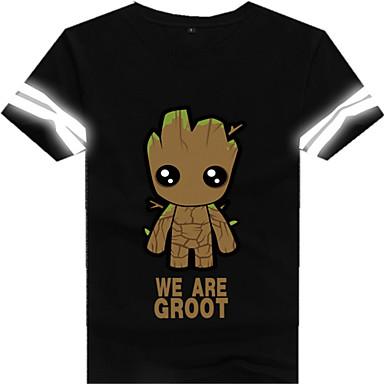 Cosplay Kostüme Zeichentrick - Kapuzenpullover & Pullover Soldat/Krieger Monster Film/Fernsehen Thema Kostüme Film Cosplay T-shirt