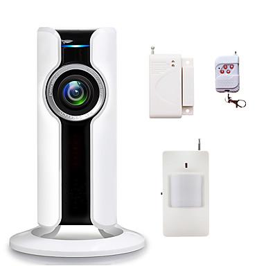 433MHz Dálkové ovládání Mobile App 433MHz WIFI zvuková signalizace Místní alarm Email upozornění Home signalizace