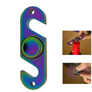 Duha ruční spinner hračka s otvírákem na láhve gyro stres reliéf špička hračka frugal