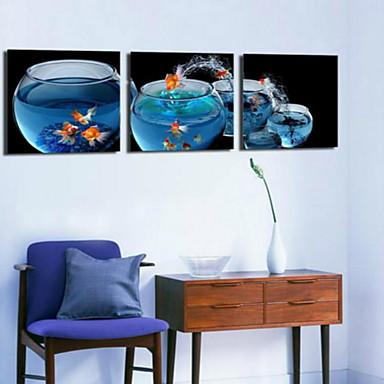 Reprodukce umění Zátiší Moderní,Tři panely Horizontální Grafika Wall Decor For Home dekorace