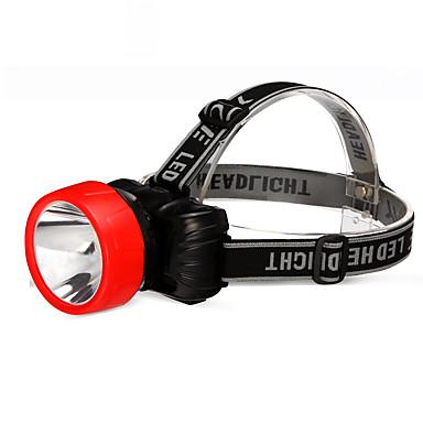 YAGE YG-3588 Čelovky LED 2 Režim osvětlení Dobíjecí / Stmívatelné / Kompaktní velikost Kempování a turistika / Každodenní použití / Cyklistika Černá / červená