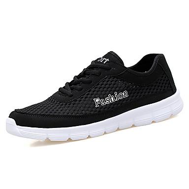 Miehet kengät Tyll Kesä Valopohjat Urheilukengät Kävely varten Kausaliteetti Musta Tumman sininen Harmaa