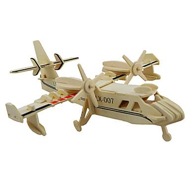 3D - Puzzle Holzpuzzle Holzmodelle Modellbausätze Flugzeug 3D Heimwerken Holz Klassisch Kinder Unisex Geschenk