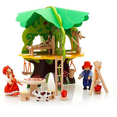 3D - Puzzle Modellbausätze Haus Hölzern Kinder Geschenk