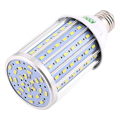 abordables Ampoules électriques-YWXLIGHT® 1pc 35 W Ampoules Maïs LED 3400-3500 lm E26 / E27 T 108 Perles LED SMD 5730 Lampe LED Décorative Blanc Froid 85-265 V