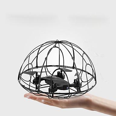 RC Kameralennokki F504 6 Akselin 2,4G Ilman kameraa RC-multikopteri LED valot Kotiinpaluutoiminto Auto-Takeoff Headless Mode - toiminto