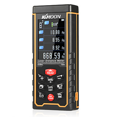 kkmoon kézi lézeres távolságmérő nagy pontosságú színes kézi infravörös távolságmérő lézer vonalzó