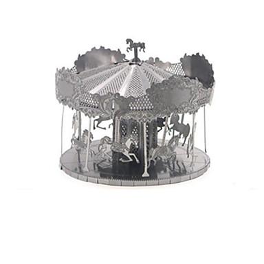 3D - Puzzle Metallpuzzle Karusell Spaß Edelstahl Klassisch