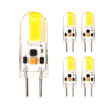 5pçs 2W 350 lm Luminárias de LED  Duplo-Pin T 1 leds COB Branco Quente Branco Frio AC 220-240V