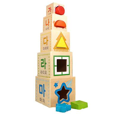 Blocos de Construir Blocos Lógicos Brinquedo Educativo Quadrada Legal Crianças Brinquedos Dom