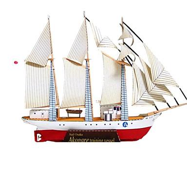 Quebra-Cabeças 3D / Maquetes de Papel / Brinquedos de Montar Navio Faça Você Mesmo / Simulação Cartão de Papel Duro Clássico Crianças Unisexo Dom