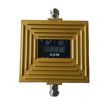 GSM 900mhz mobil signal booster mobiltelefon signalforsterker