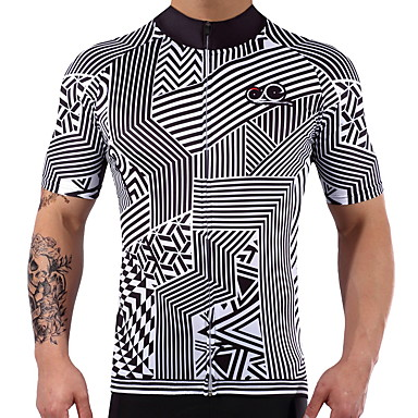 Short Sleeves Cycling Jersey Bike Quick Dry, Summer, Spandex Lycra