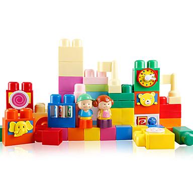 Rakennuspalikat Lelut Hauska Muovit Lasten Pieces