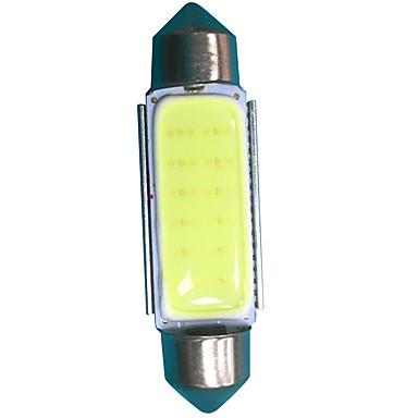 Festoon Carro Lâmpadas 3W W COB 300lm lm LED luzes exteriores