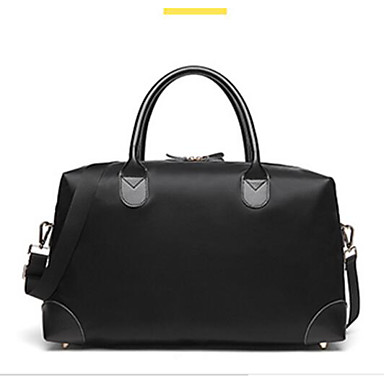 Women Bags All Seasons Polyester Travel Bag for Casual Outdoor White Black Yellow