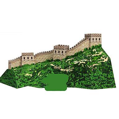 3D-puslespill Papirmodell Modellsett Papirkunst Leketøy Kjent bygning Kinesisk arkitektur Arkitektur 3D GDS Unisex Deler