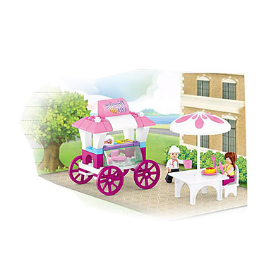 Sluban Blocos de Construir Brinquedos de Montar Brinquedos Plásticos Crianças Peças