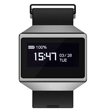 Pulseira inteligente YYCK12 para Android iOS Bluetooth Bluetooth 4.0 Esportivo Impermeável Monitor de Batimento Cardíaco Medição de Pressão Sanguínea Tela de toque Pulso Rastreador Podômetro Monitor