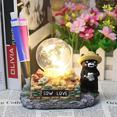 Bear Anime Figure Toy Japan Mascot Kumamoto Zakka craft LED Night Light Decor Table Lamp Child Xmas Gift
