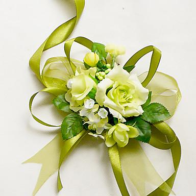 Bouquets de Noiva Buquê de Pulso Casamento Chifon Seda Algodão Cetim 1.97