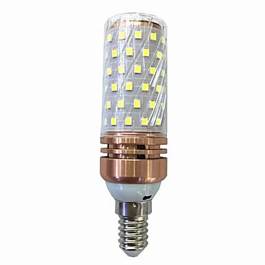 15W 700-800lm E14 LED Corn Lights T 78 LED Beads SMD 2835 Warm White / White 220V