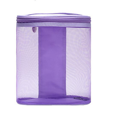 Women Bags Nylon Cosmetic Bag for Casual Outdoor All Seasons Blue Gray Purple