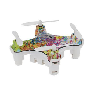 RC Drone Cheerson CX-10D 4CH 6 Eixos 2.4G Sem câmera Quadcópero com CR Luzes LED Retorno Com 1 Botão Modo Espelho Inteligente Vôo
