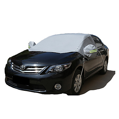 Semi-coverage Car Covers Reflective For universal All Models All Seasons
