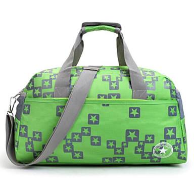 Unisex Bags All Seasons Oxford Cloth Polyester Travel Bag for Casual Outdoor Blue Green Black Dark Blue Fuchsia